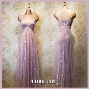 vestido lila boda de dia