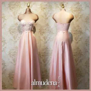 vestido razo rosa